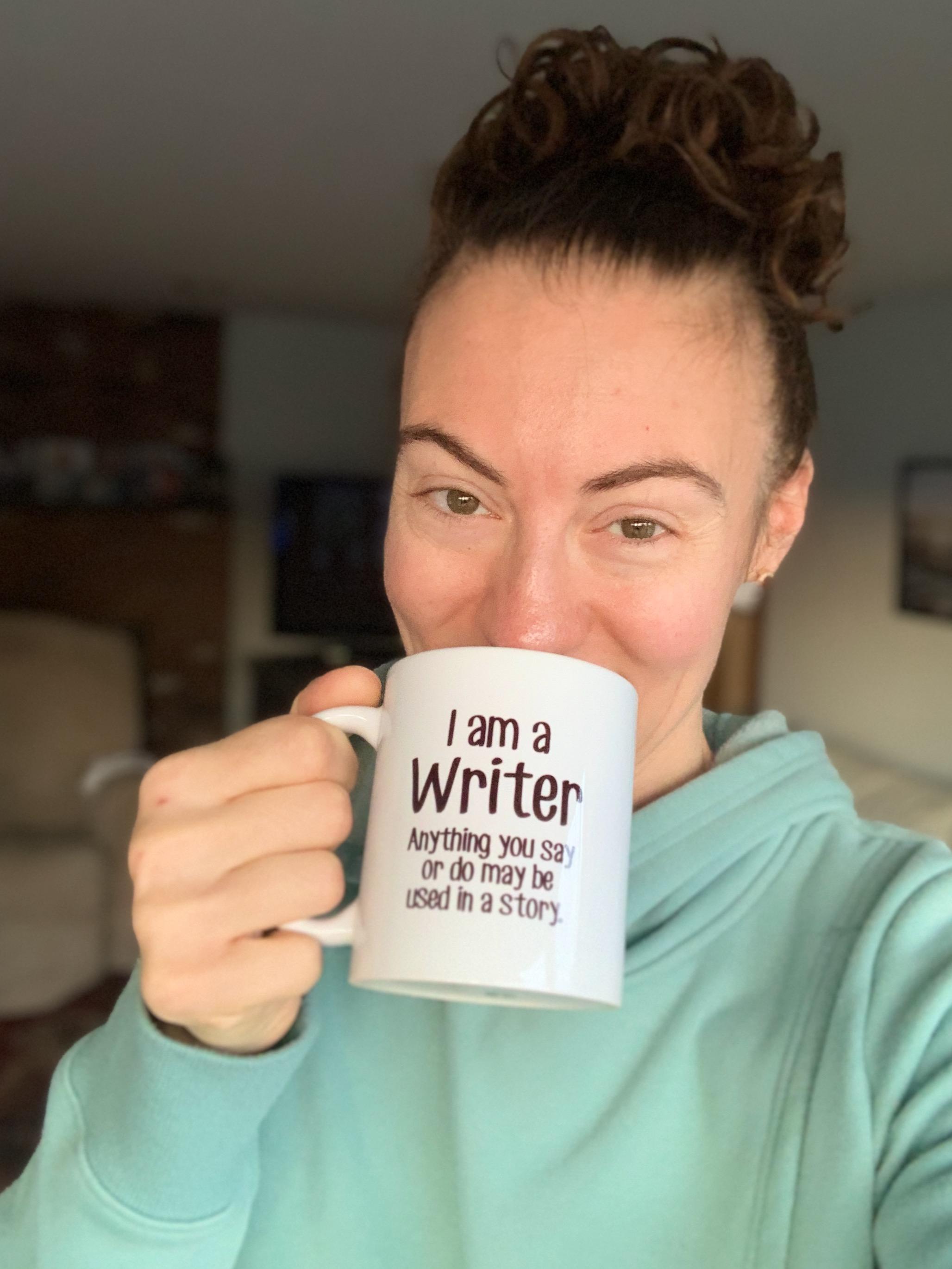 I am a writer mug